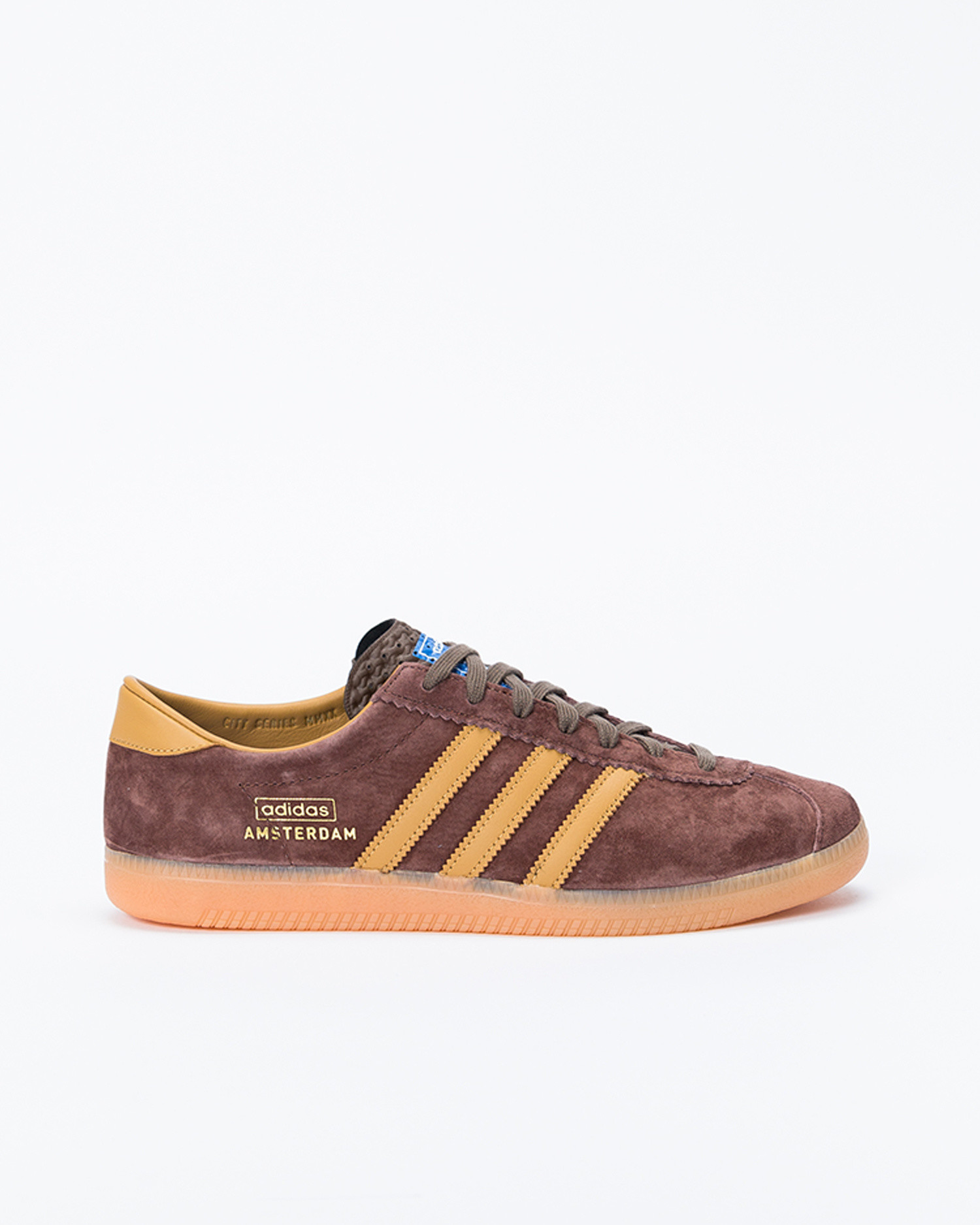 adidas Originals Amsterdam Dusurus/Brown/Mesa