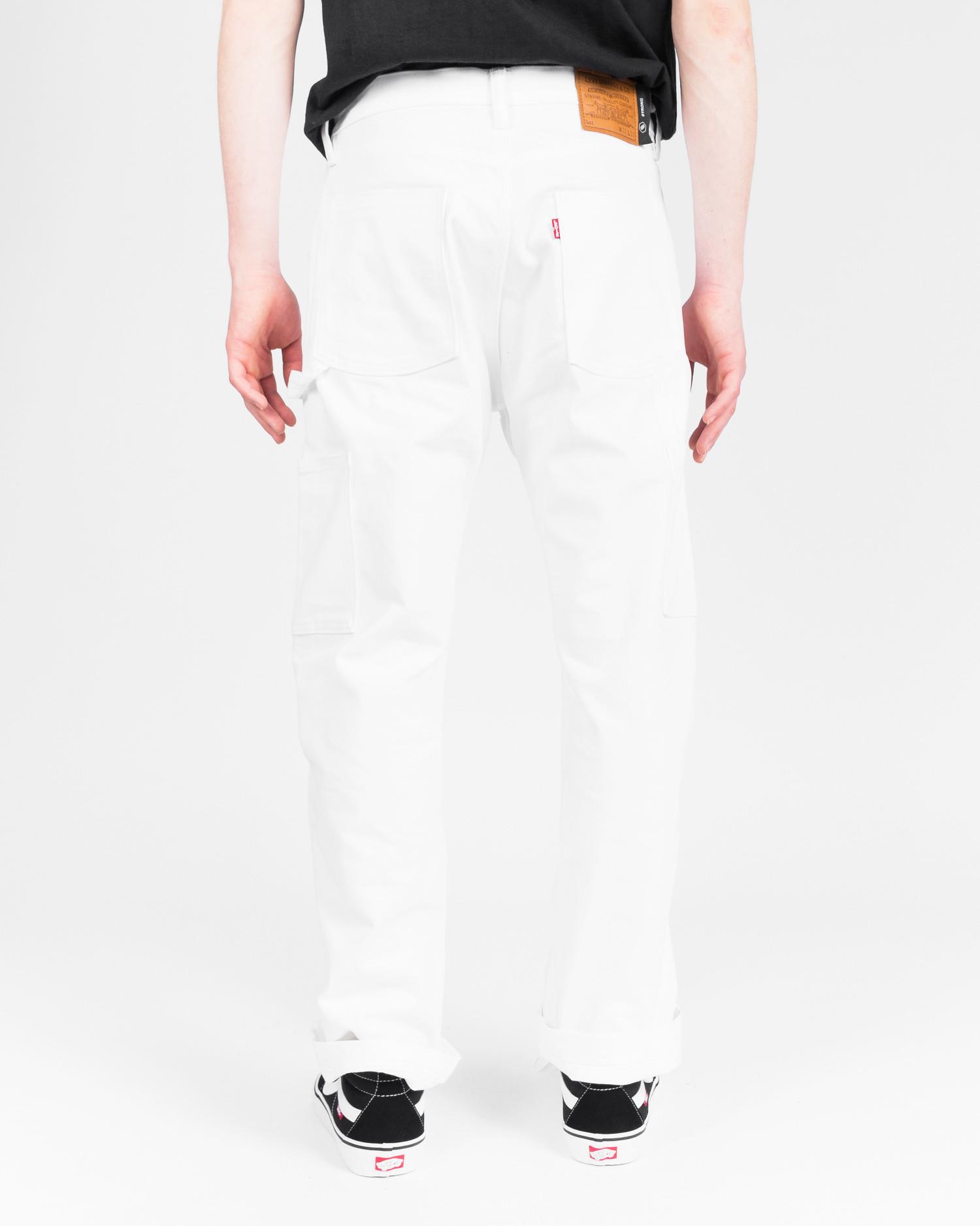 Levi's Skate Carpenter SE White Bull