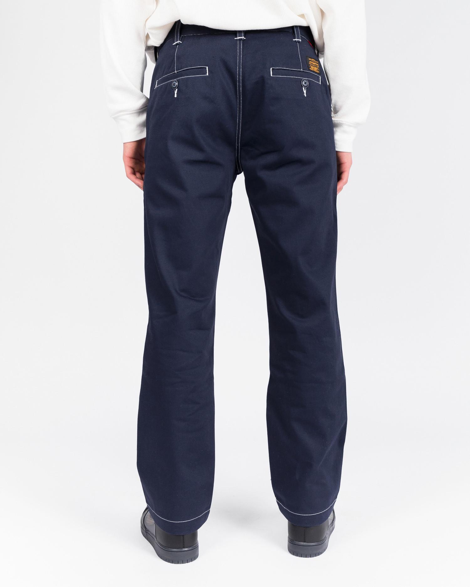 Levi's Skate Work Pant Navy Blazer Stitch