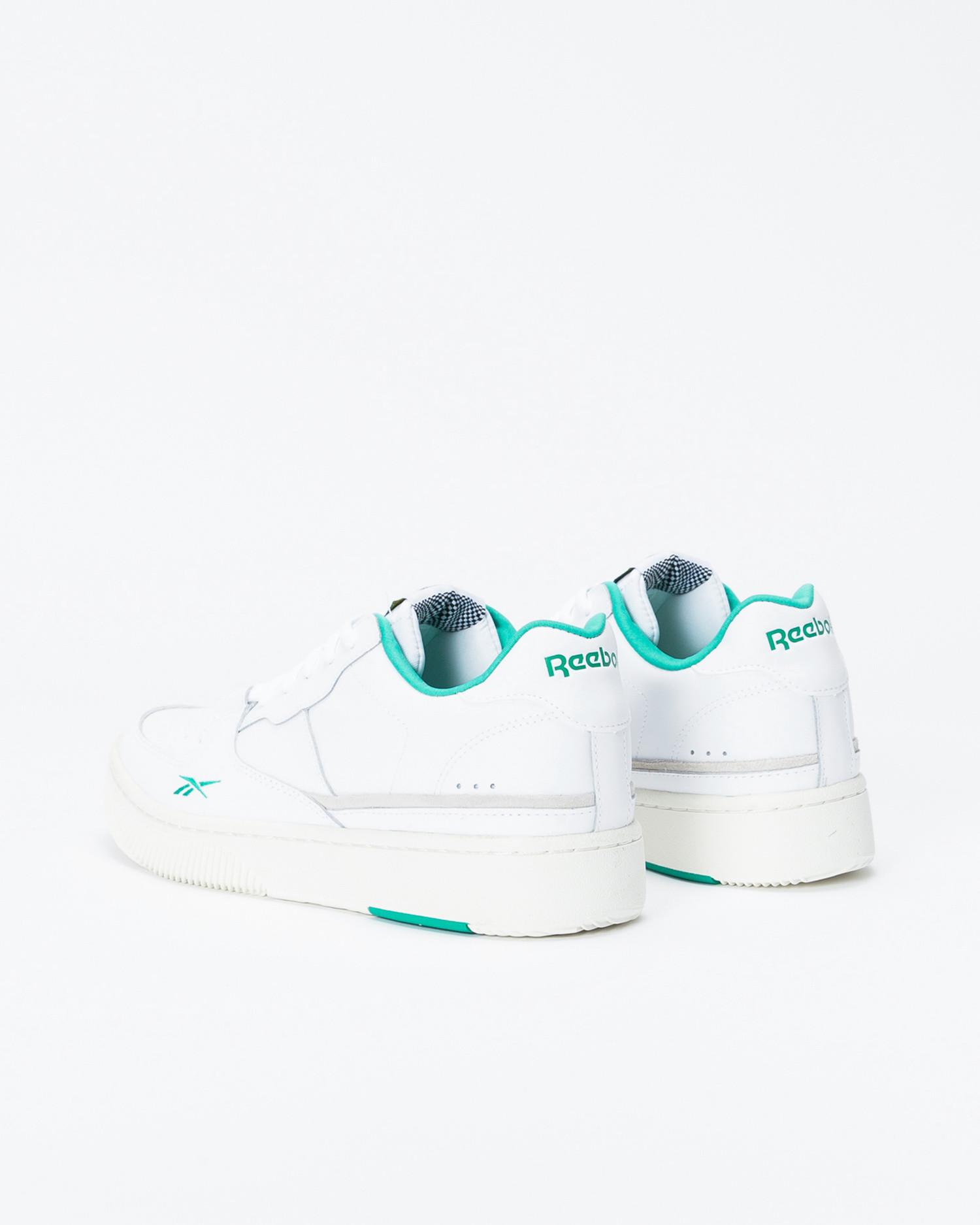 Reebok Dual Court White/Chalk/Emeral