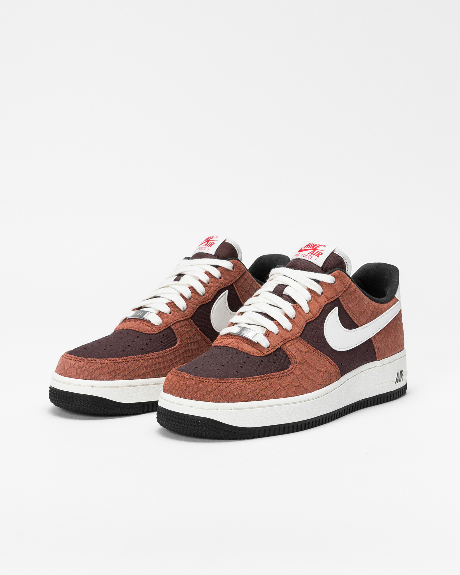 Nike Air Force 1 prm Red Bark/sail-earth-university red