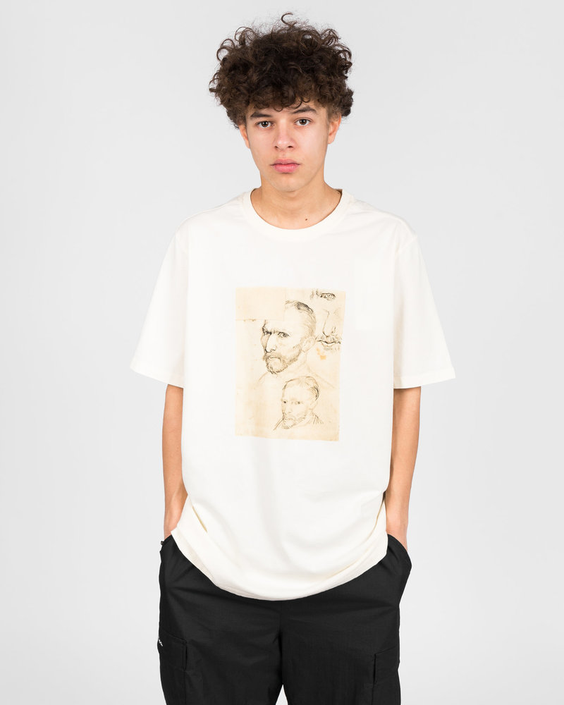 Pop Trading Co Pop Trading Co X Van Gogh T-shirt Off White
