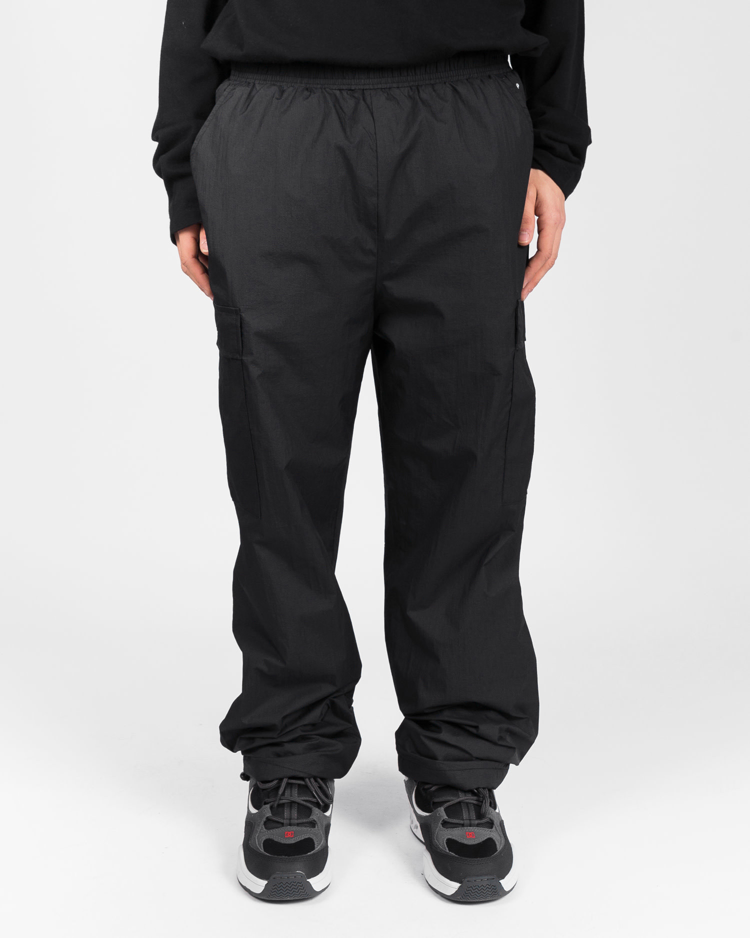 Pop Trading Cargo Track Pant Black
