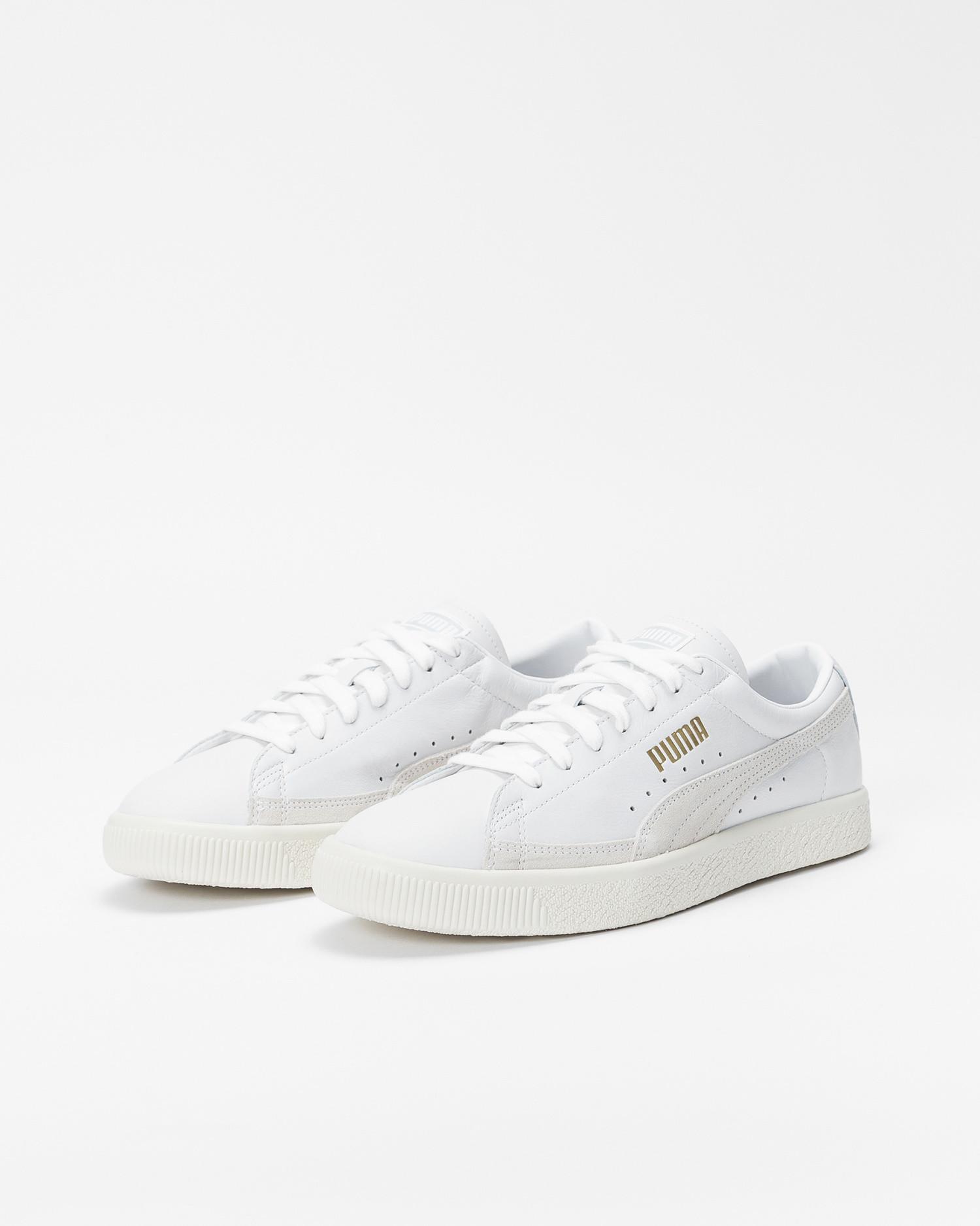 Puma Basket 90680 Lux White/whisper white