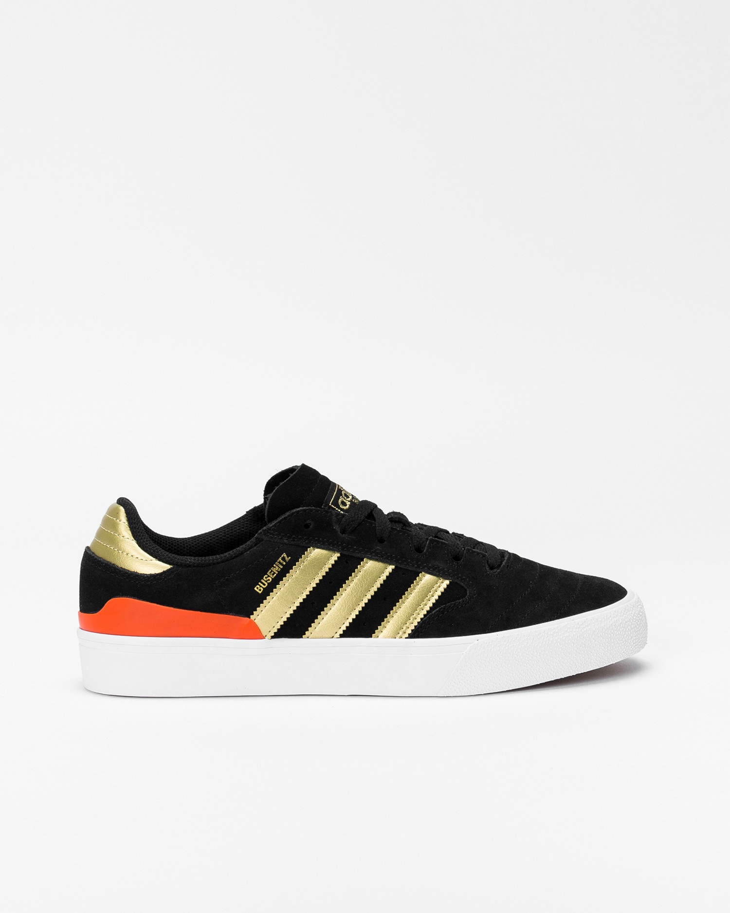 Adidas Busenitz Vulc II Core black/Gold metalic/Solar red