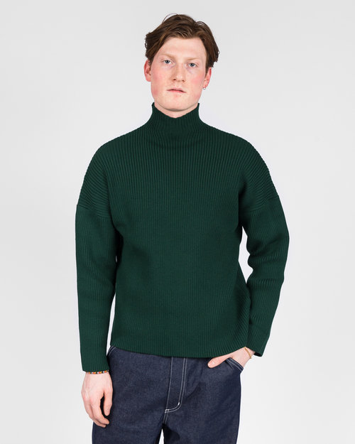 Paccbet Paccbet V-Neck Sweater Green