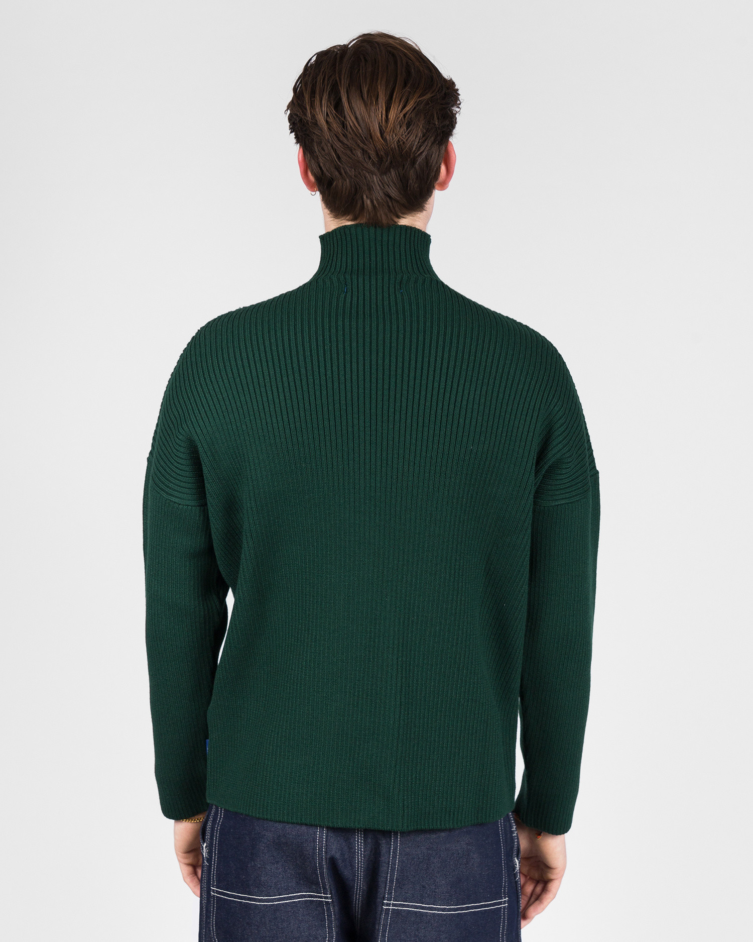 Paccbet V-Neck Sweater Green