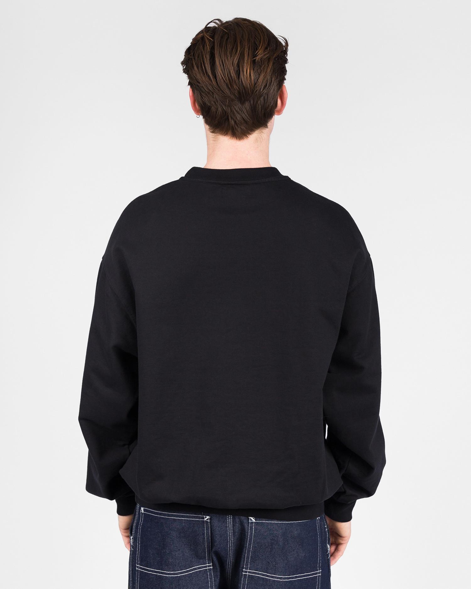 Paccbet Reflective Logo Sweatshirt Black