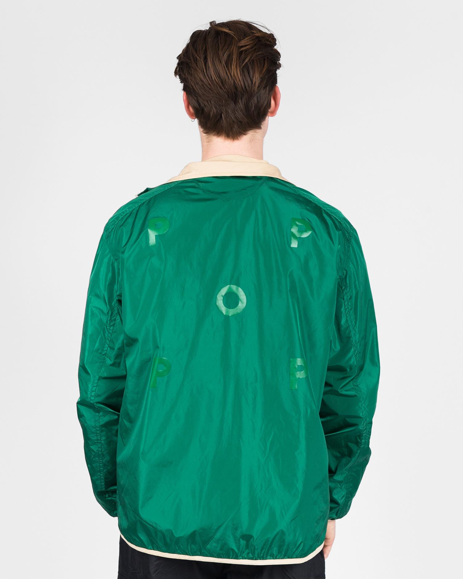 Pop Trading Co plada jacket khaki green