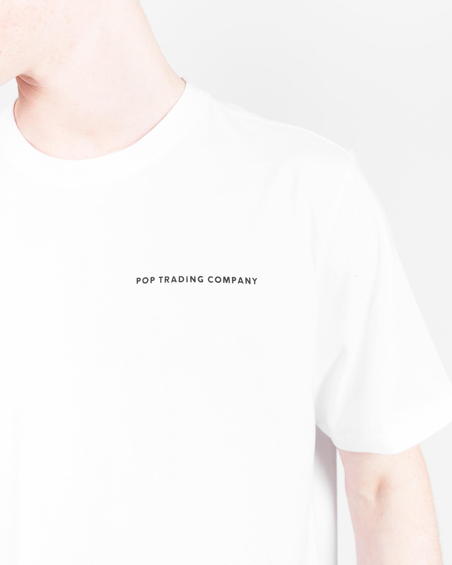 Pop Trading Co noah t-shirt white