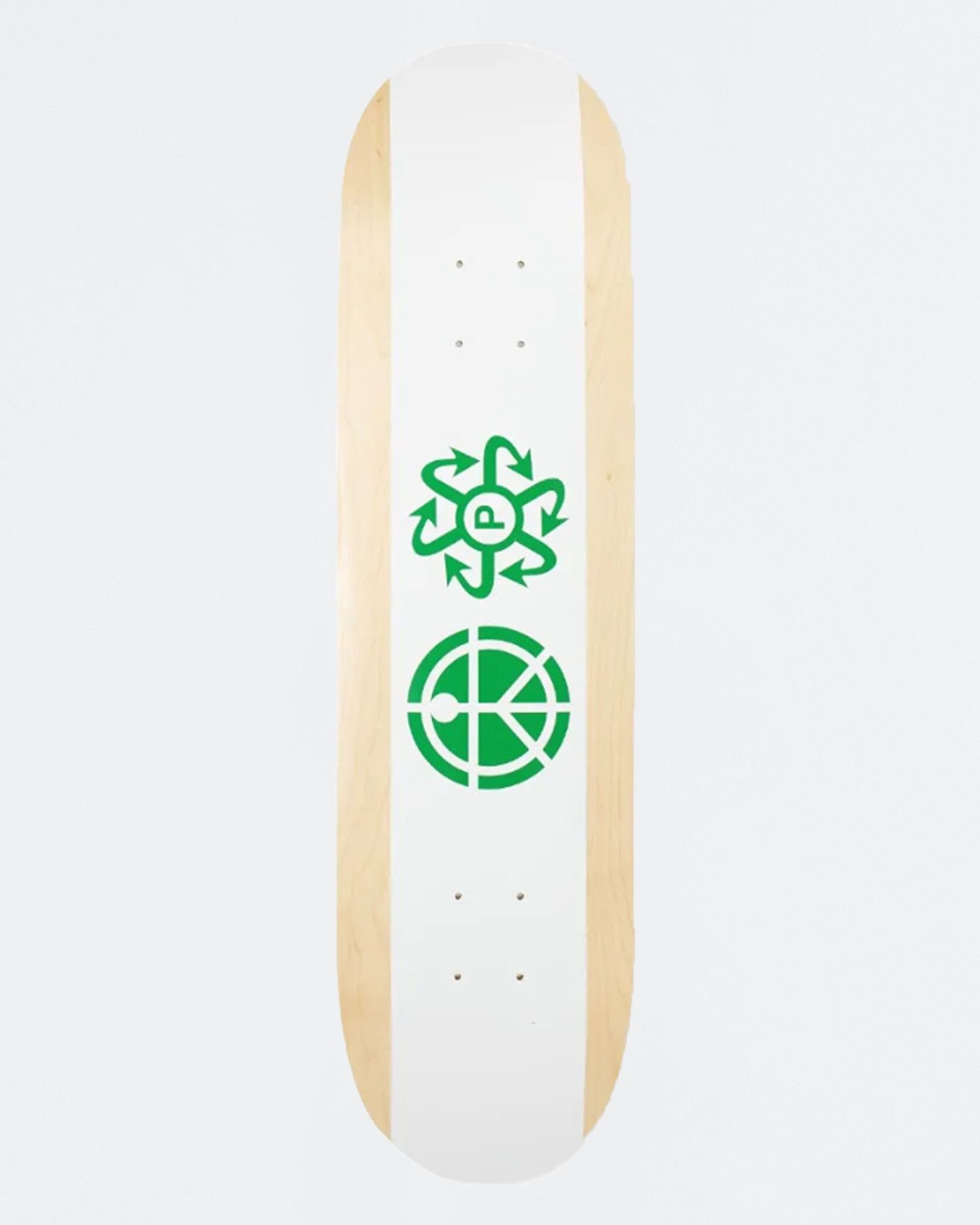 Paccbet Skateboard White 8.375