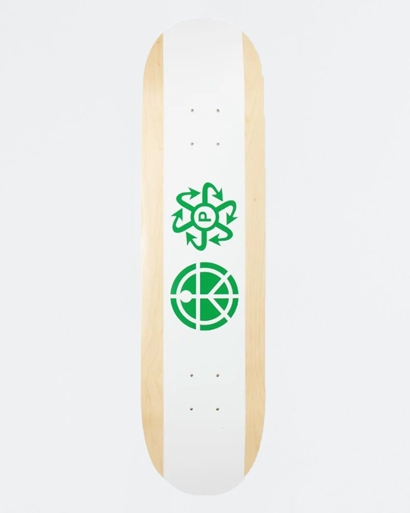 Paccbet Paccbet Skateboard White 8.375