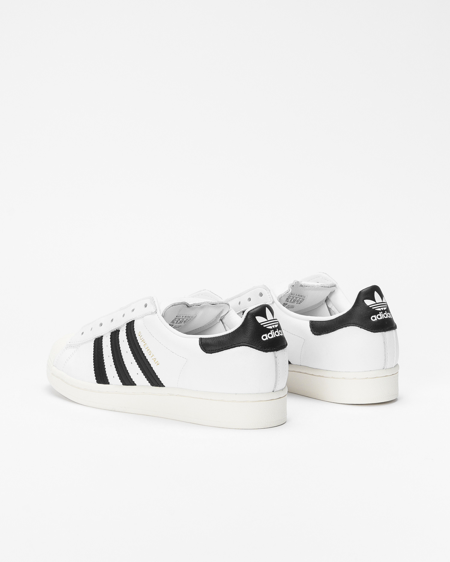 adidas Superstar laceless white/black/white