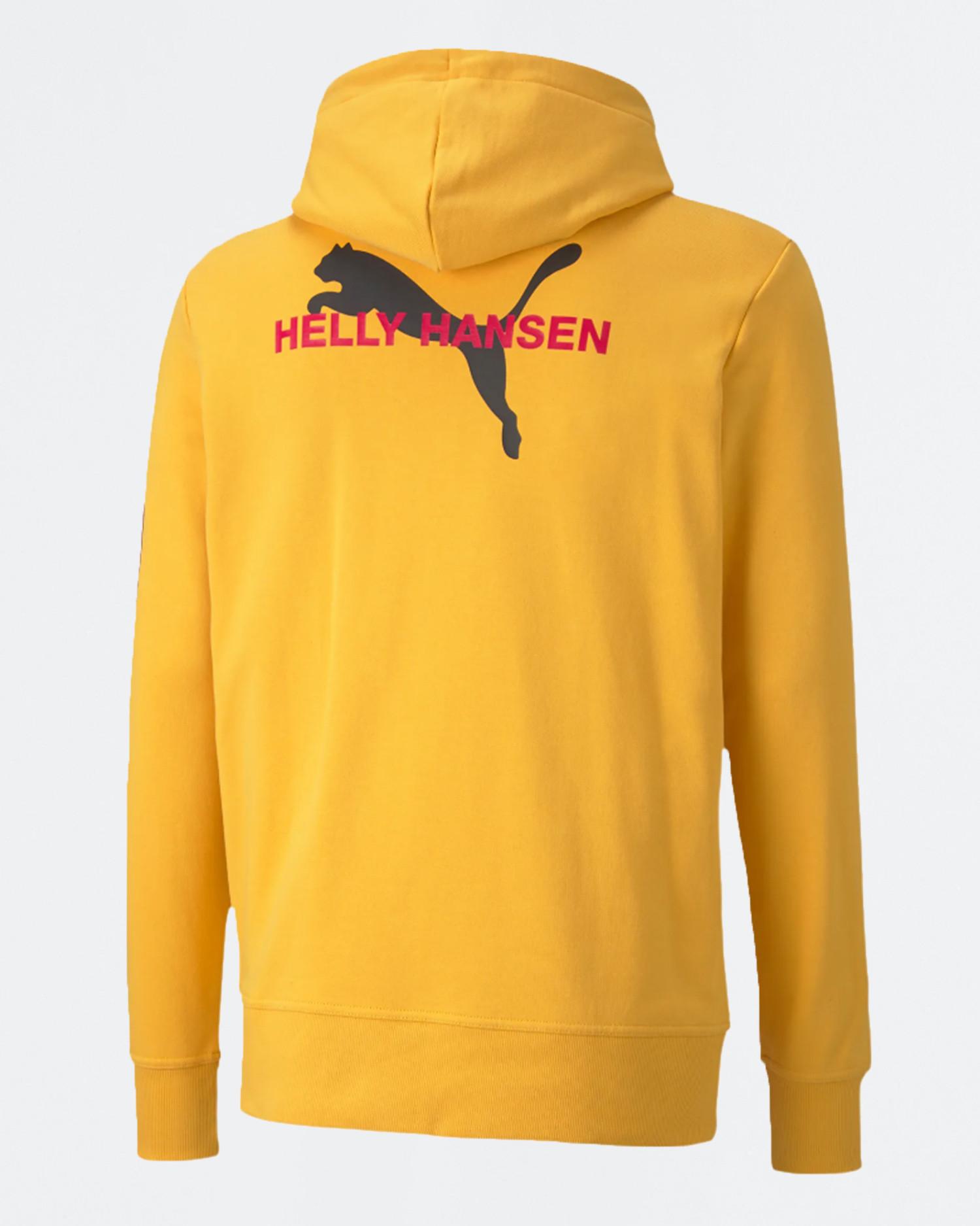 Puma x Helly Hansen hoodie citrus