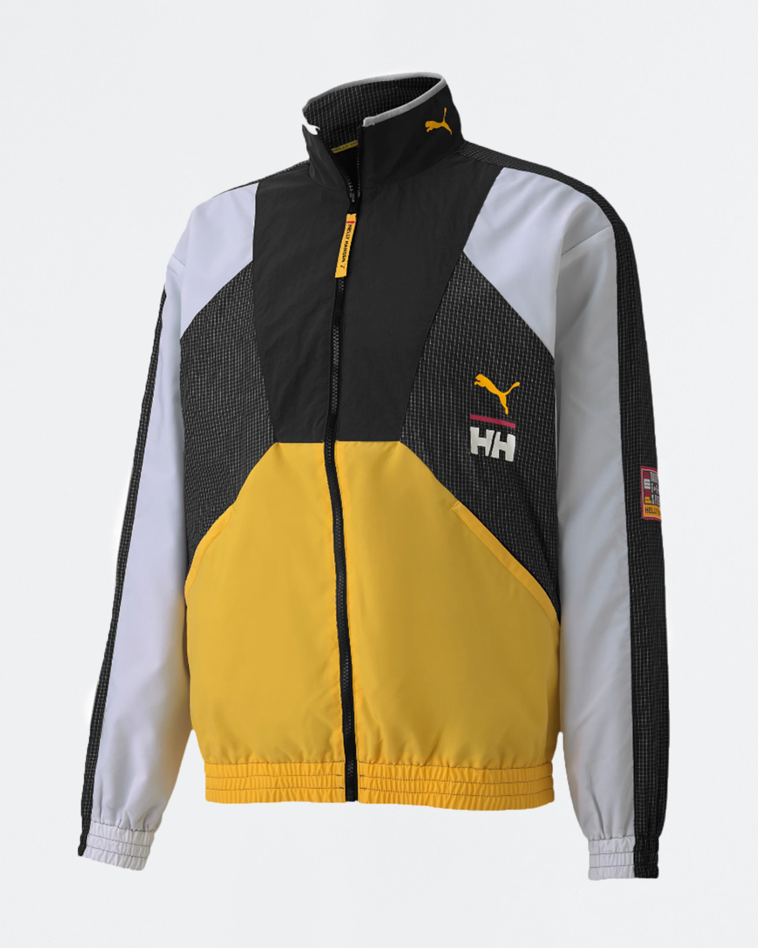Puma x Helly Hansen TFS Track top citrus