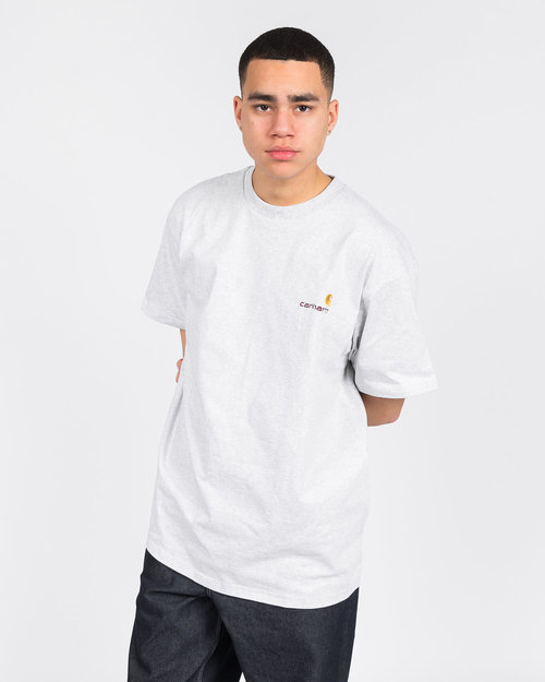 Carhartt Carhartt American Script T-Shirt Cotton Ash Heather
