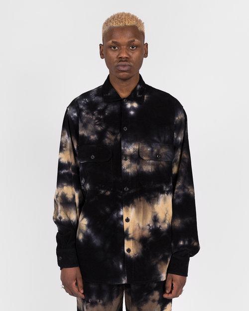 Futur Futur Cor Overshirt Tie Dye Dark