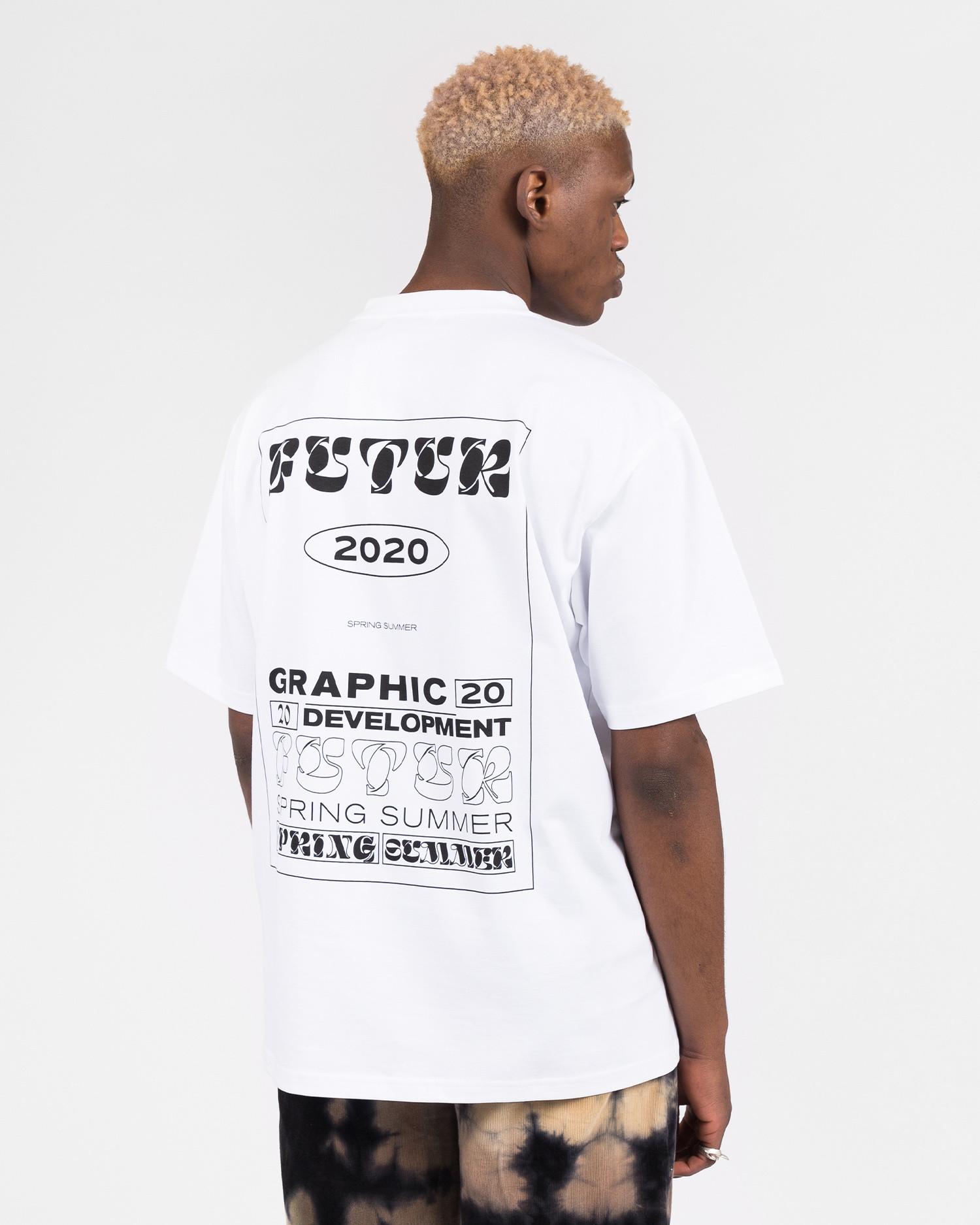 Futur MW G Fit Dr Typo tee White