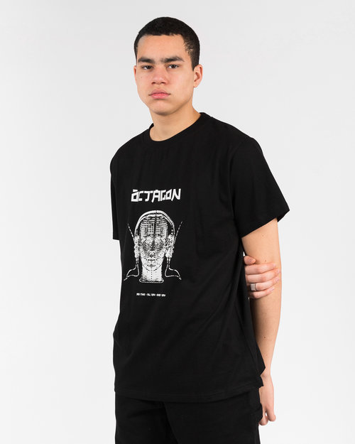 Octagon Öctagon Tune in Shortsleeve T-Shirt Black