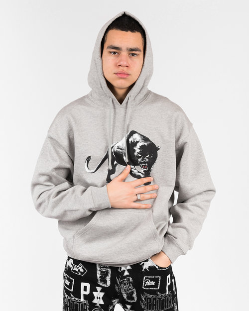 Patta Patta Panther hooded sweater Melange grey