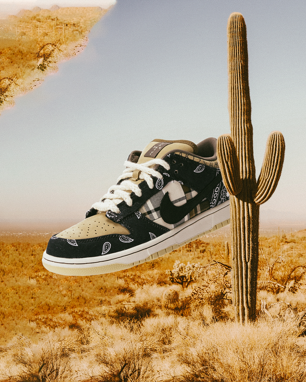 De Nike SB x Travis Scott Dunk Low