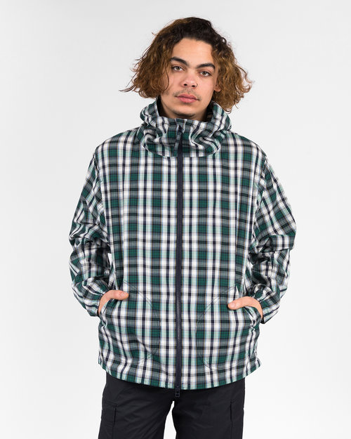 Pop Trading Co Pop Trading Co simple hooded jacket check