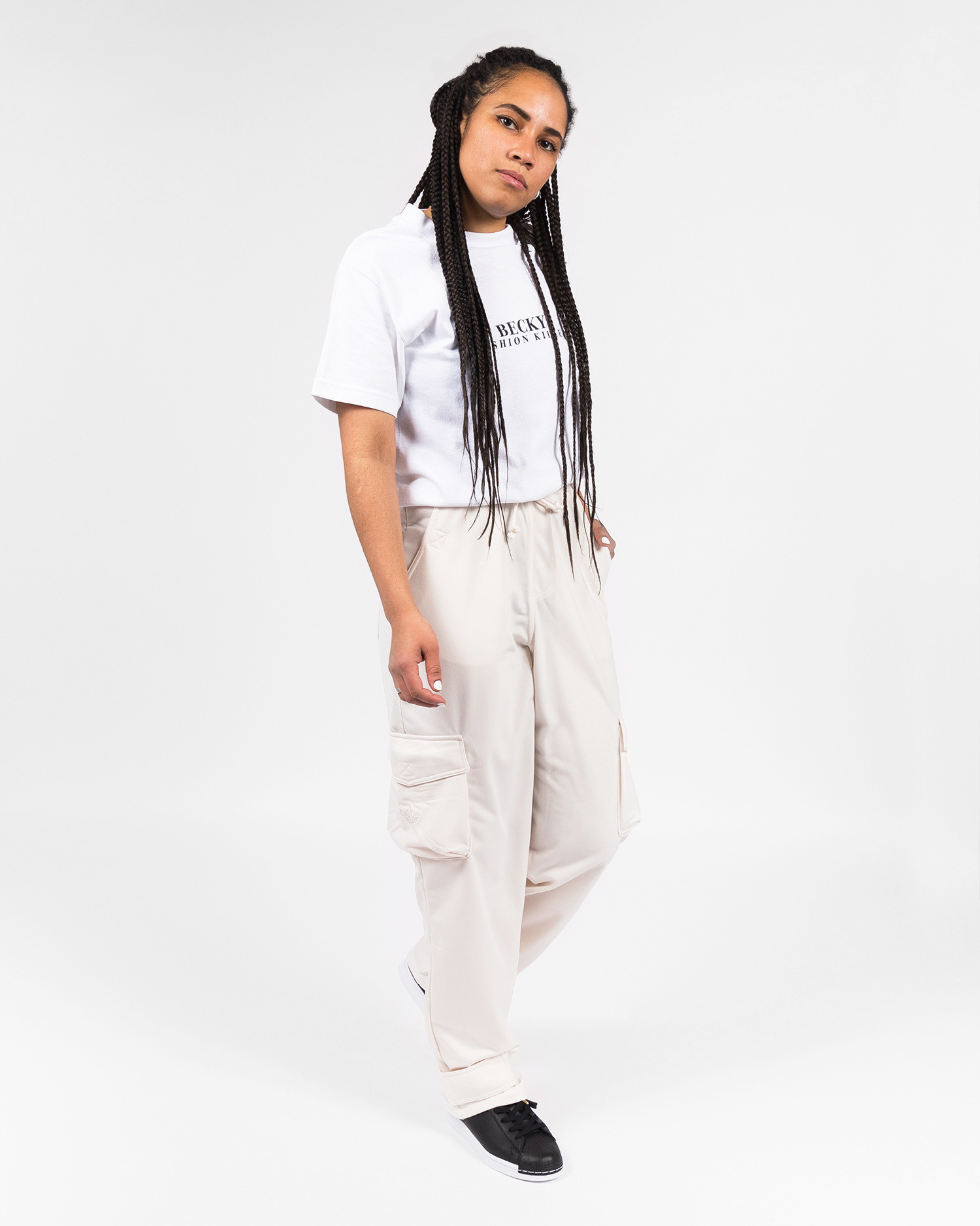 adidas Originals W Track pant white