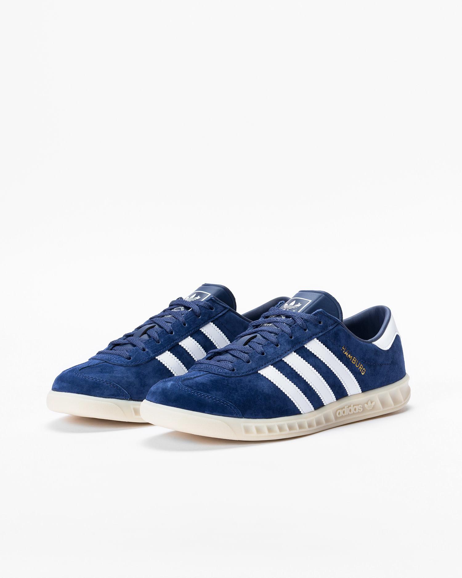 Adidas Hamburg Tech Indigo/Ftwr White/Off White