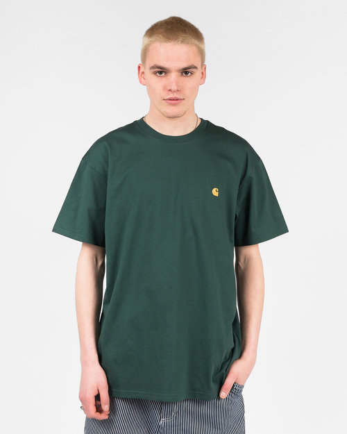 Carhartt Carhartt Shortsleeve T-Shirt Combed Treehouse Gold
