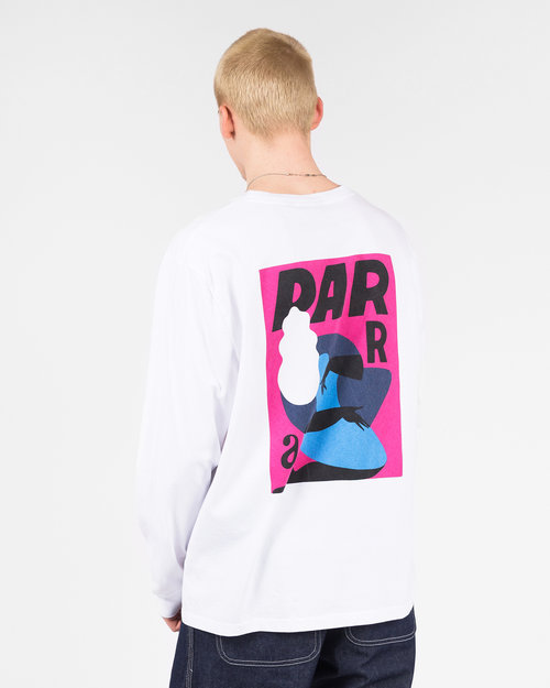 Parra Parra Twisted woman longsleeve White