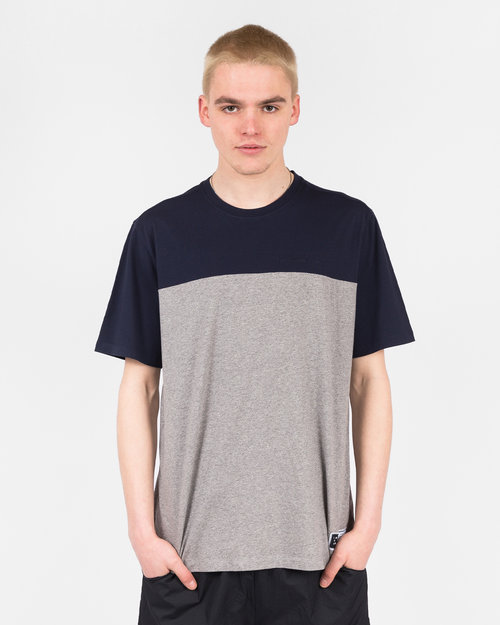 Pop Trading Co Pop Trading Co Fivestar t-shirt navy/heather grey