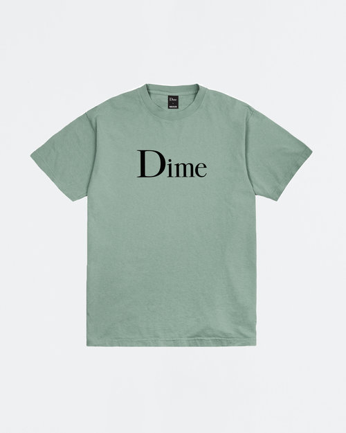 Dime Dime Classic Logo T-shirt Atlantic Green