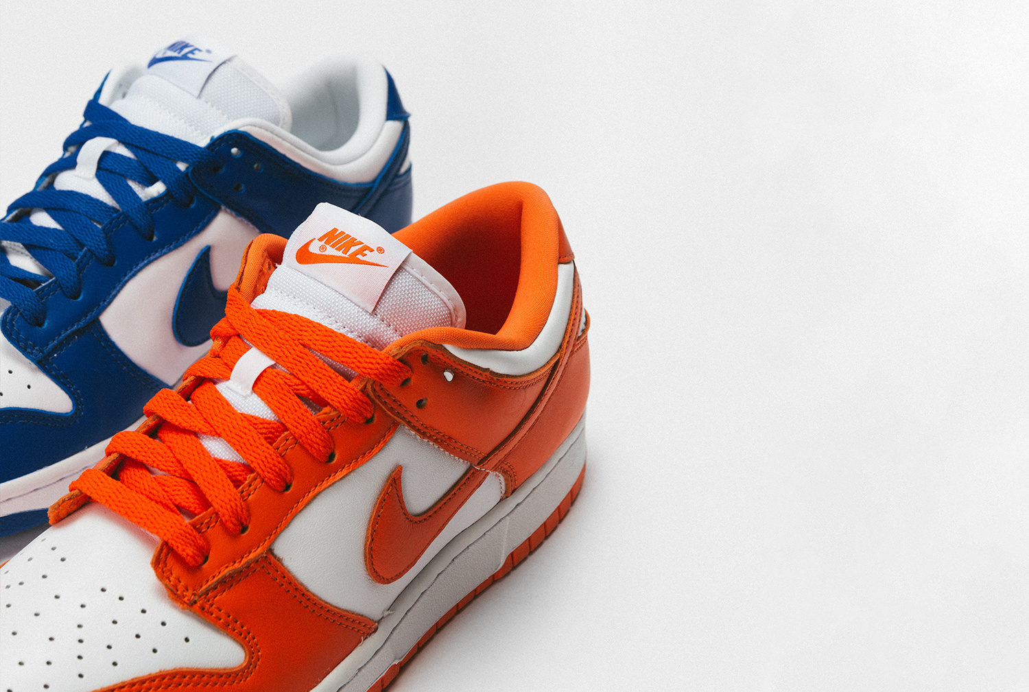 "Launch Info: Nike Dunk Low SP ""Kentucky"" and ""Syracuse"""