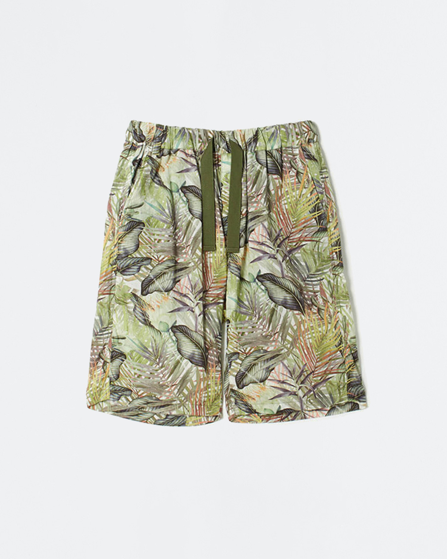 White Mountaineering Woven Pant Botanical Printed Easy Short Pants