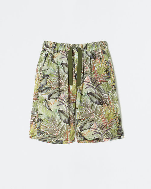White Mountaineering White Mountaineering Woven Pant Botanical Printed Easy Short Pants