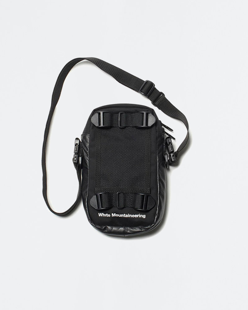White Mountaineering White Mountaineering Mesh Shoulder Black Black