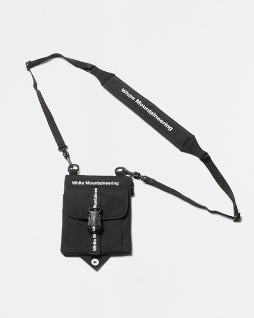 White Mountaineering White Mountaineering Wm Logo Shoulder Bag Black