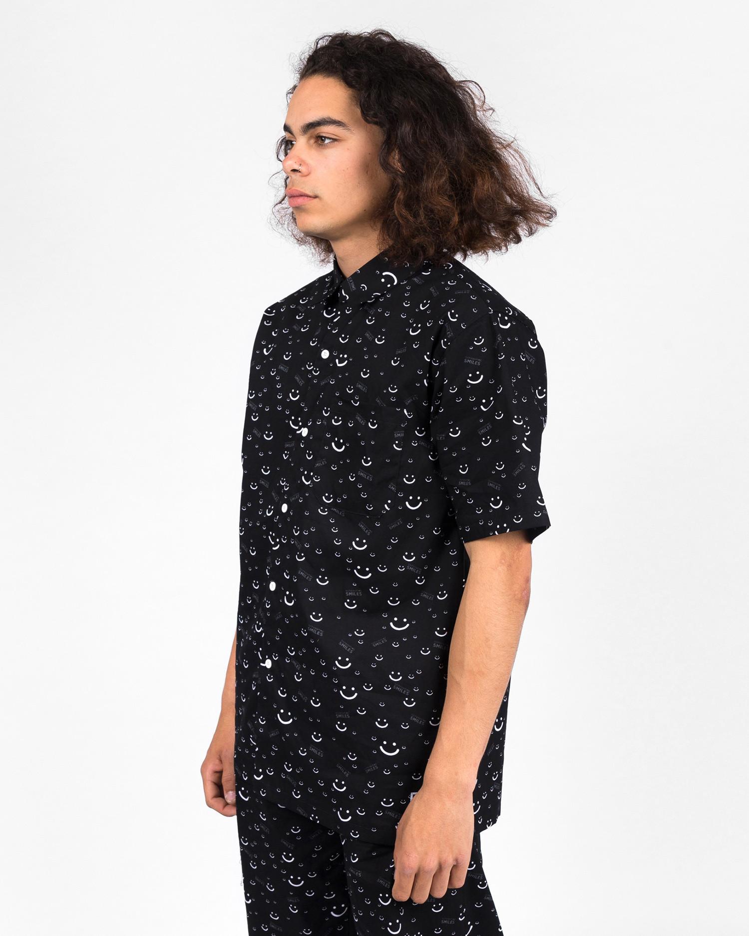 Lousy Livin Jean jaques Pyjama Shirt Black