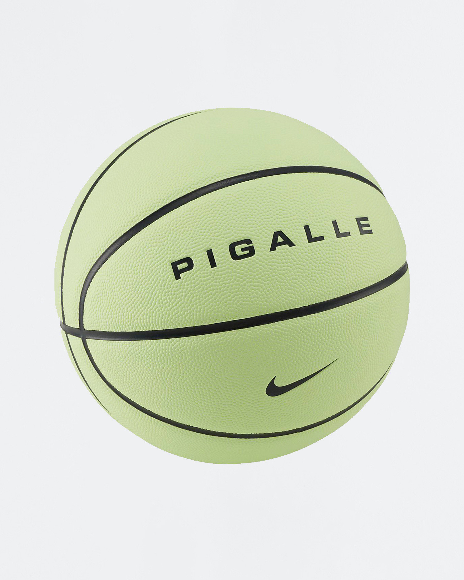 Nike x Pigalle basketball Barely Volt/Anthracite