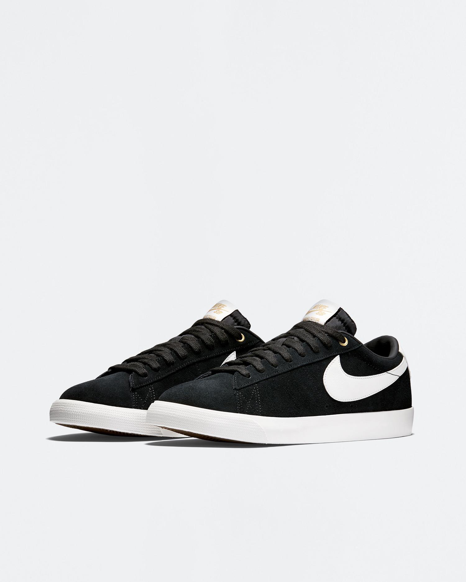 Nike SB Blazer Low Gt Black/Sail