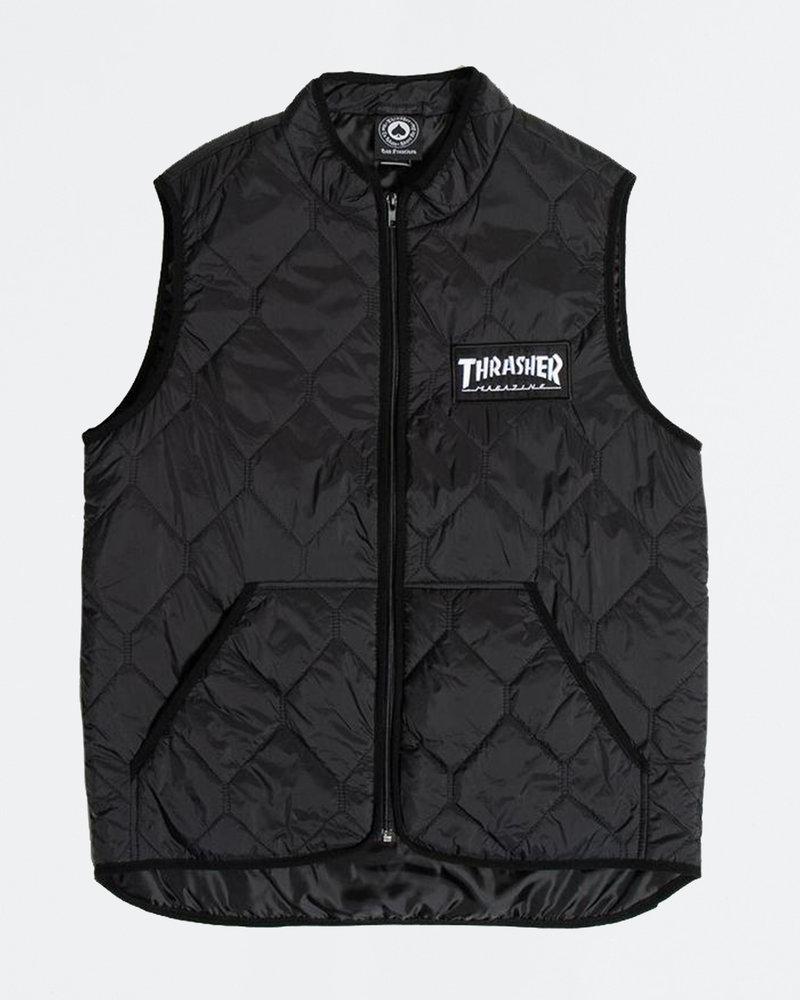 Thrasher Thrasher Magazine Logo Vest Black