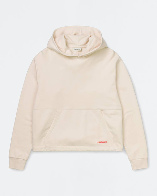 Carhartt Carhartt W Hooded Nea Sweat Natural/Pop Coral