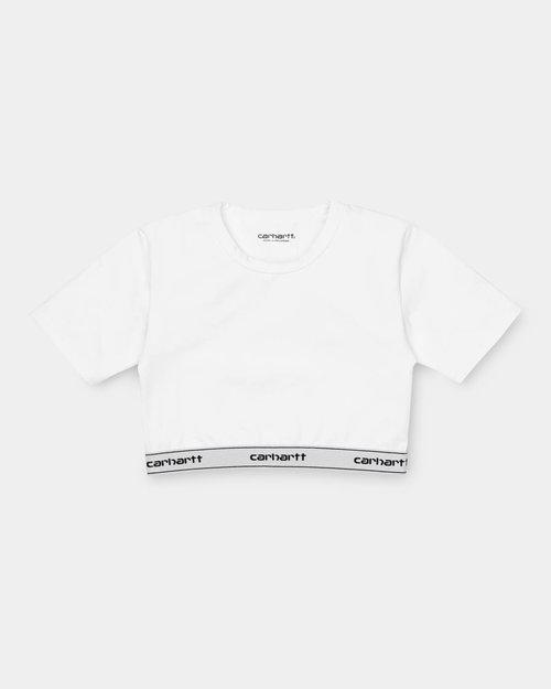 Carhartt Carhartt W Script Crop Top White/Black