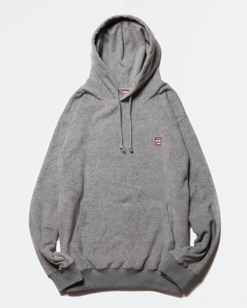 HAVE A GOOD TIME Have A Good Time Mini Frame Terry Pullover Hoodie Gray