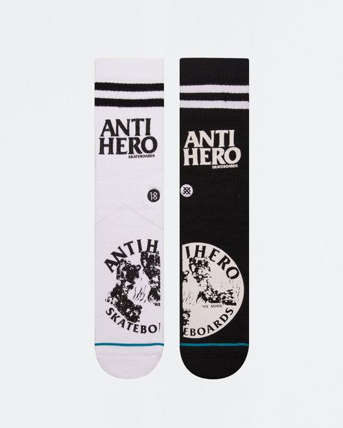 Stance Stance Skate Socks Anti-Hero Black