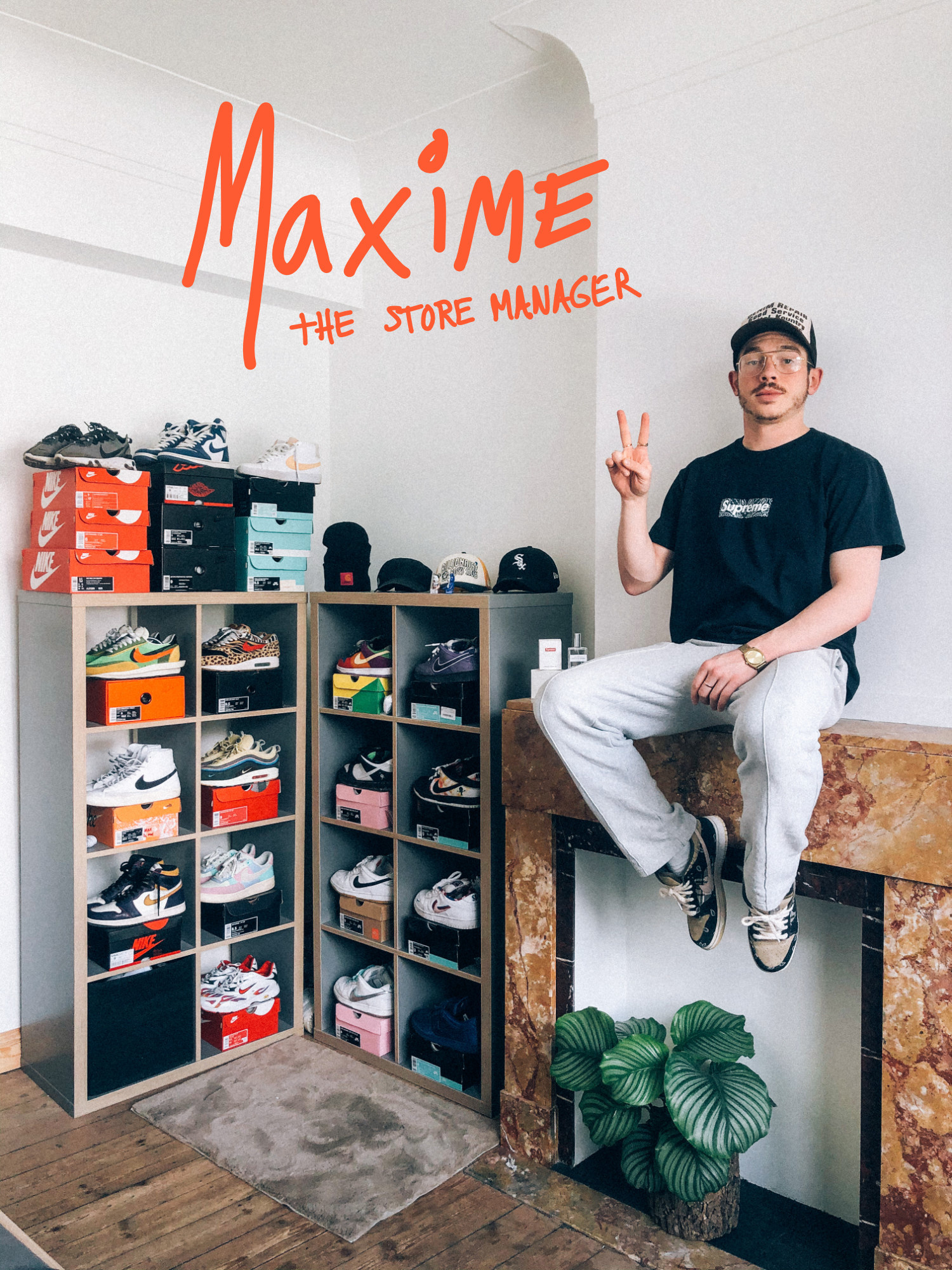 Lockdown Leisures: Maxime, store manager and our greatest hypebeast
