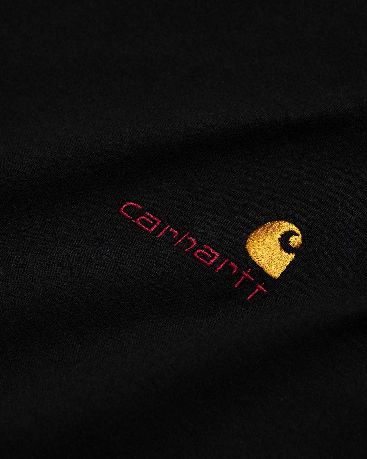 Carhartt American Script Longsleeve Black