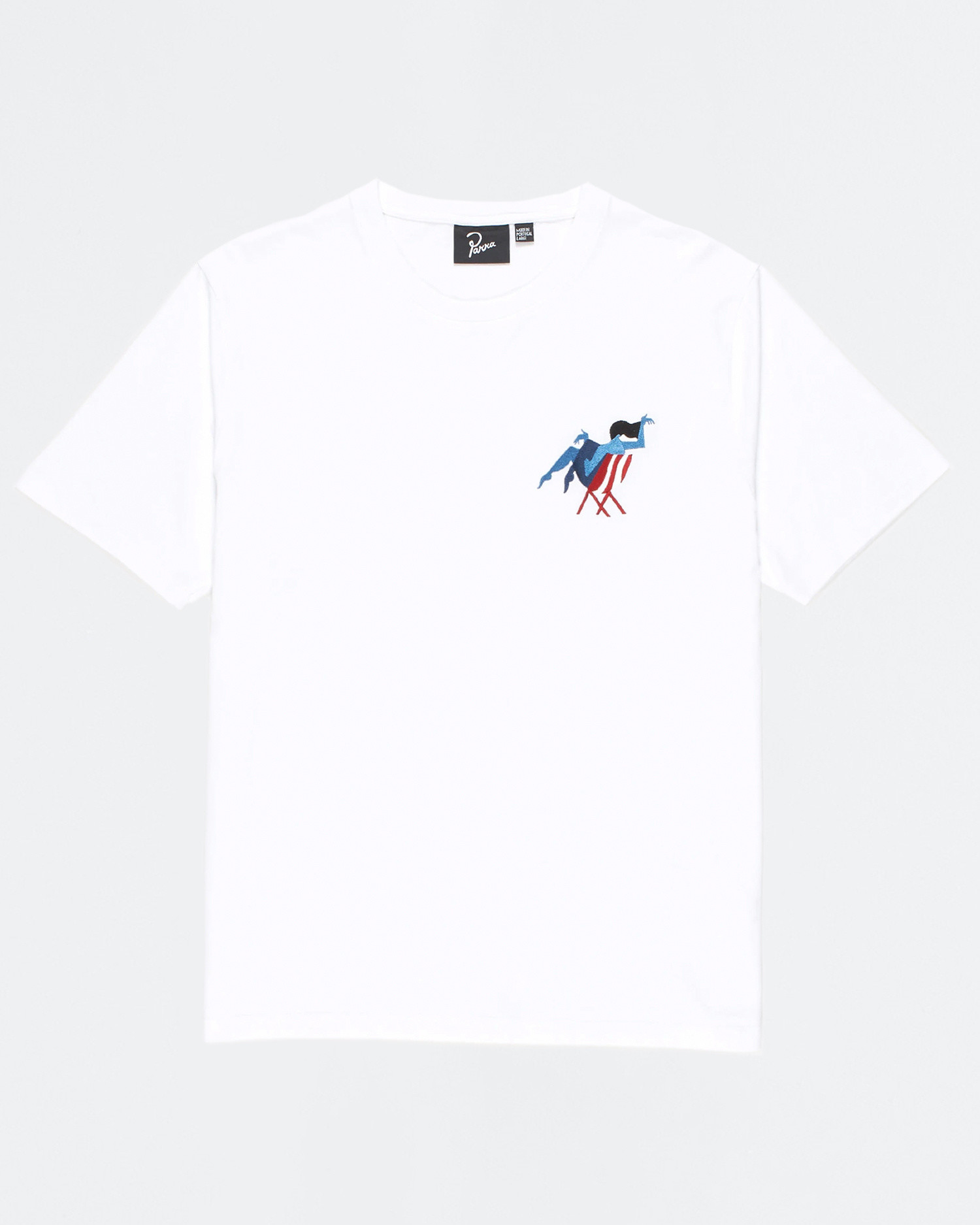Parra Beach T-Shirt White