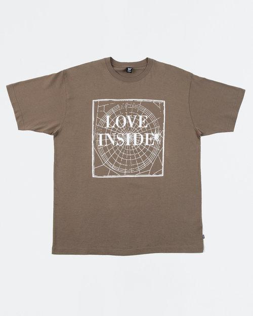 Patta Patta Love Inside T-Shirt Morel
