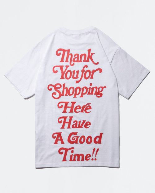 HAVE A GOOD TIME Have A Good Time Thank You For Shopping Tee White